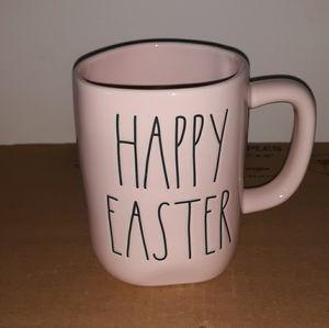 Rae DunnLL Pink HAPPY EASTER Mug